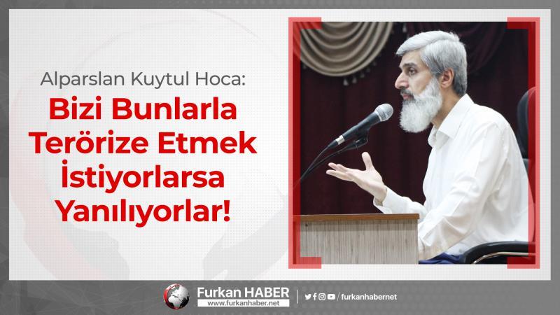 Alparslan Hoca Furkan Gönüllülerinin Kozan ve Erzin'de maruz kaldığı zulmü değerlendirdi