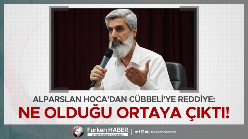 Alparslan Kuytul Hoca'dan Cübbeli'ye Reddiye: Ne Olduğu Ortaya Çıktı!