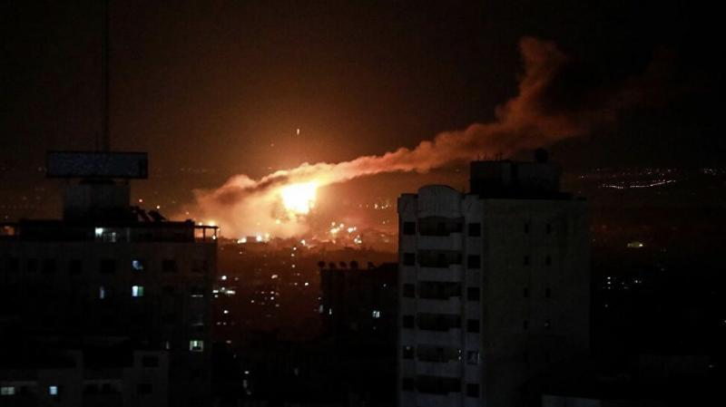 Siyonist İsrail'in Gazze'ye saldırılarını sürdürüyor