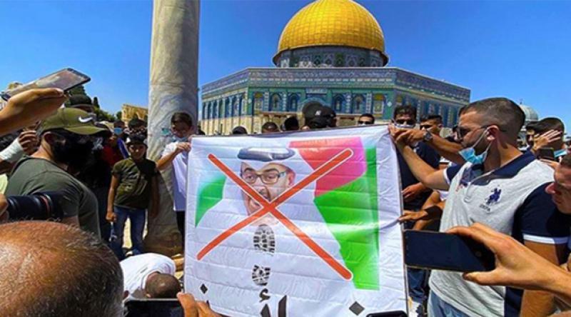 Filistinliler, BAE heyetini camiden çıkardı