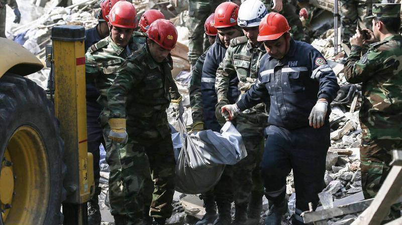 Ermenistan'ın kanlı saldırılarında 41 sivil hayatını kaybetti