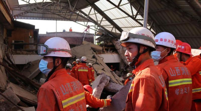 Çin'deki restoran faciasında ölü sayısı 29'a yükseldi