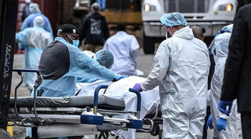 ABD'de koronavirüs nedeniyle hayatını kaybedenlerin sayısı 40 bini geçti