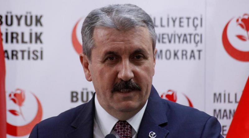 Mustafa Destici, yeniden Büyük Birlik Partisi'nin Genel Başkanı oldu