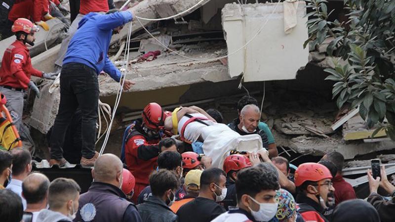 İzmir depreminin ardından 67 artçı yaşandı