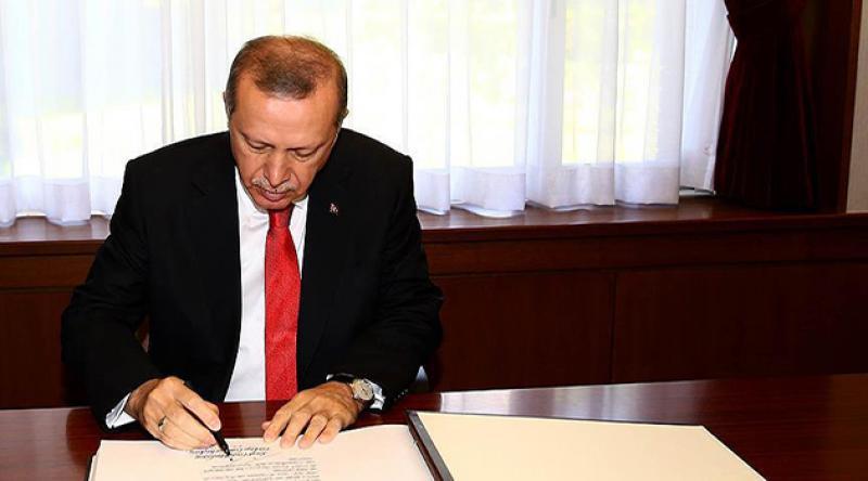 Erdoğan'dan 6 bakanlığa yeni atama