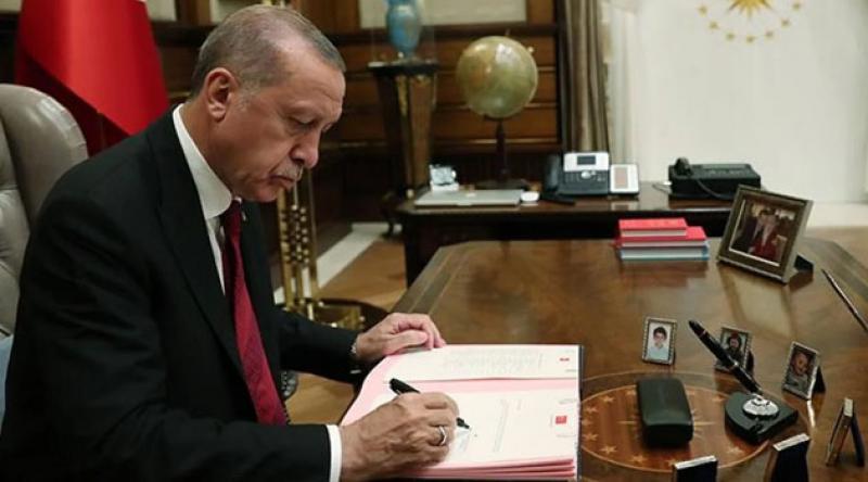 Resmi Gazete'de yayımlandı! Erdoğan'dan atamalar