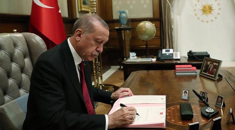 Cumhurbaşkanı Erdoğan, 6 üniversiteye rektör atadı