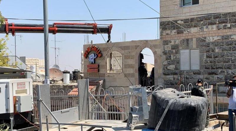 Geçen ay Kudüs'te 20 bina yıkıldı, 14 kişiye uzaklaştırma cezası verildi