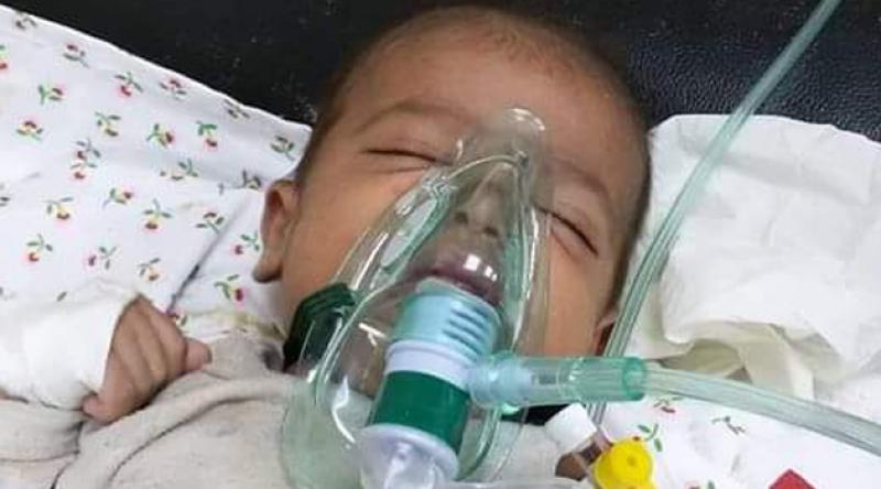 Bebek katili İsrail'in Gazze saldırısında yok ettiği 9 kişilik aileden geriye 35 günlük bebek kaldı