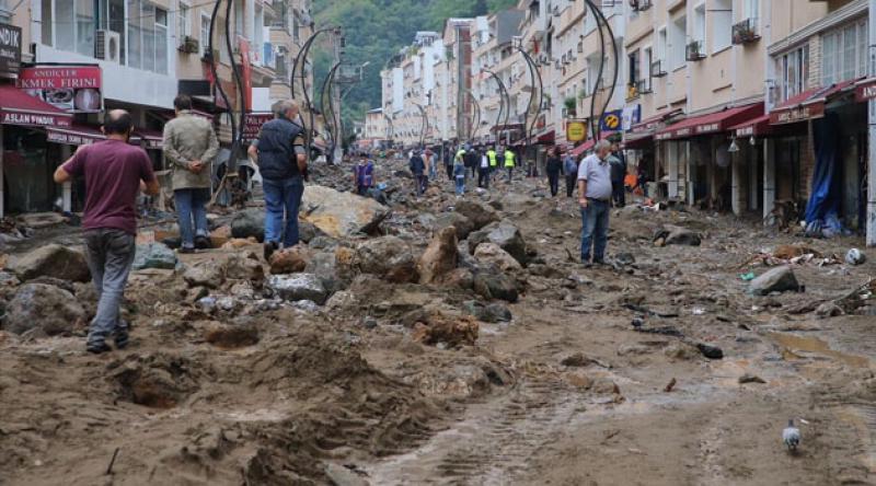 Giresun'daki sel felaketinde yaşamını yitirenlerin sayısı 4'e yükseldi