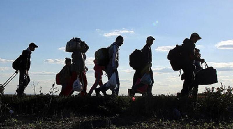 Geçen yıl 677 bin kişi Türkiye'ye göç etti