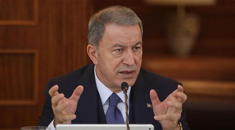 Milli Savunma Bakanı Hulusi Akar'dan F-35 açıklaması