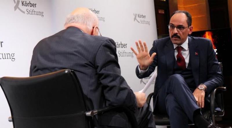 DW'nin Conflict Zone programı sunucusu İbrahim Kalın'a: Belki siz de yargılanırsınız