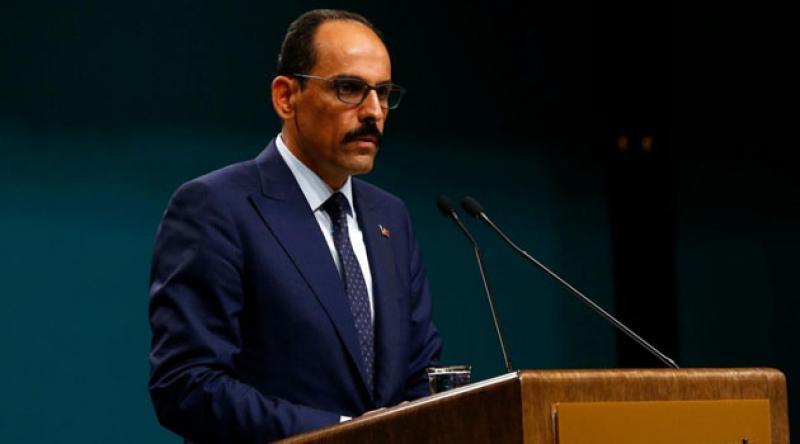 """Cumhurbaşkanlığı Sözcüsü Kalın'dan """"İsrail-BAE anlaşması""""na tepki: Filistin davasına ihanet edenlerin hüsranını tarih elbette yazacaktır"""