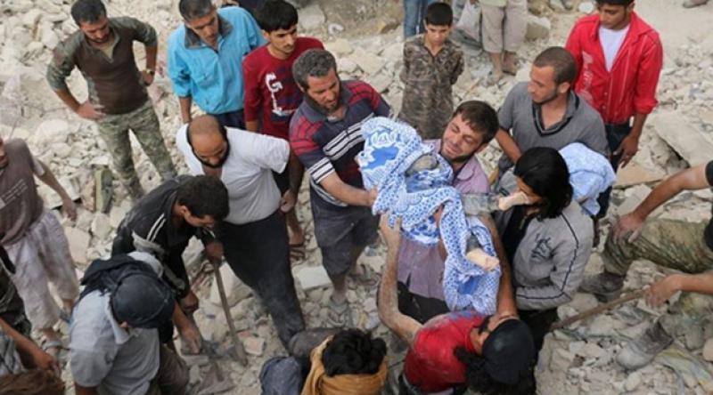 Suriye'de 15 günde 19'u çocuk 56 sivil öldürüldü