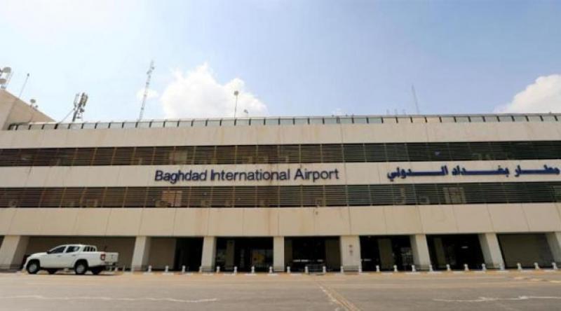 Irak'ta havalimanına roketli saldırı