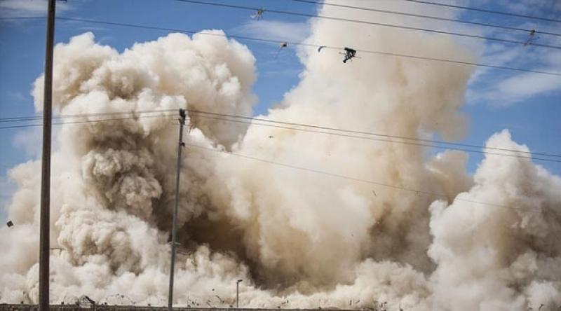 Siyonist işgal rejimine ait savaş uçakları Gazze'deki tarım alanlarını bombaladı
