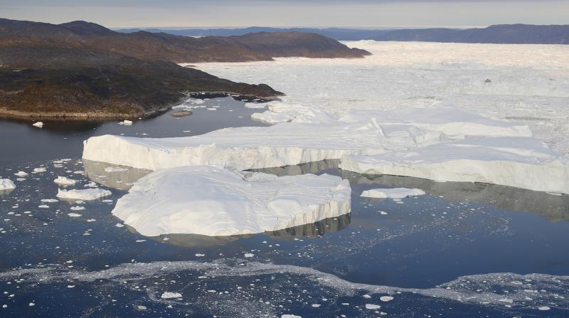 Grönland'daki buz tabakası, 2019'da rekor düzeyde eridi