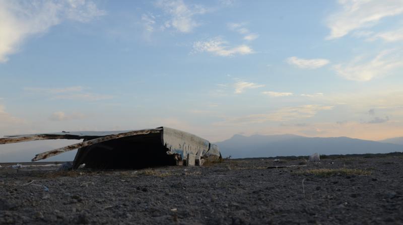 Türkiye'nin 12. büyük gölü Eber, son bir ayda 1.5 kilometre daha çekildi