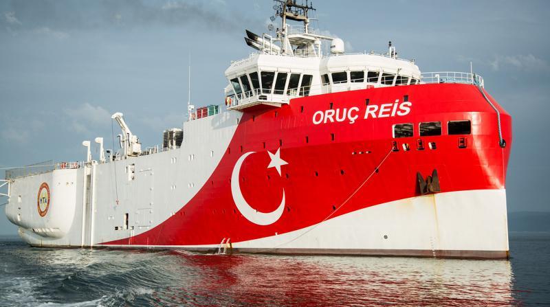 Doğu Akdeniz'deki 'Oruç Reis' gemisinin çalışma süresi uzatıldı