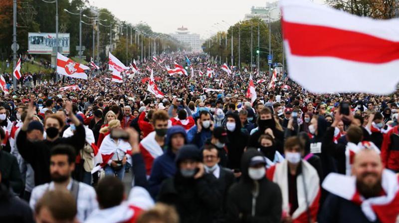 Belarus'ta Lukaşenko karşıtı protestolar sürüyor