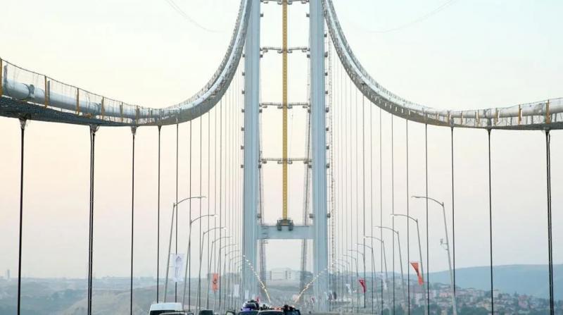 Osmangazi Köprüsü'ne yılın ilk yarısı için 1 milyar 750 milyon TL ödendi