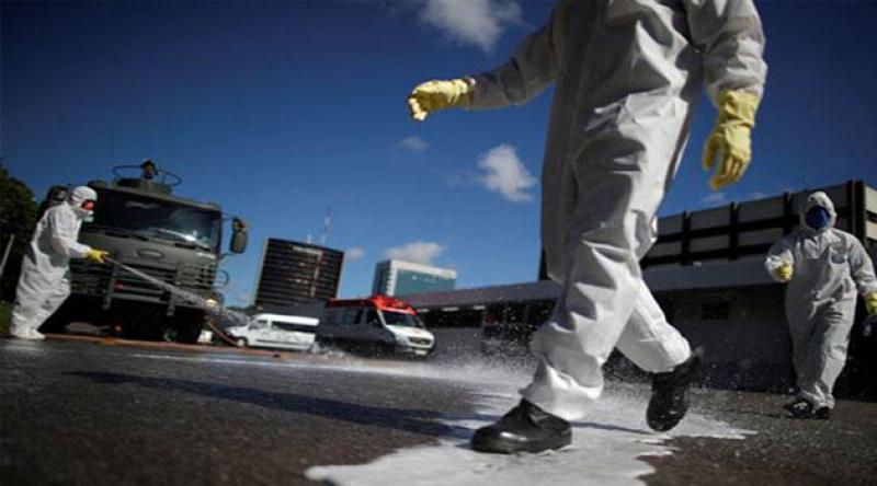 Brezilya'da koronavirüs nedeniyle 338 kişi daha öldü