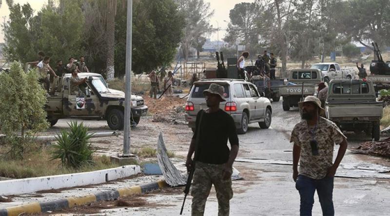 Libya'da kurtarılan hastaneden 106 ceset çıktı