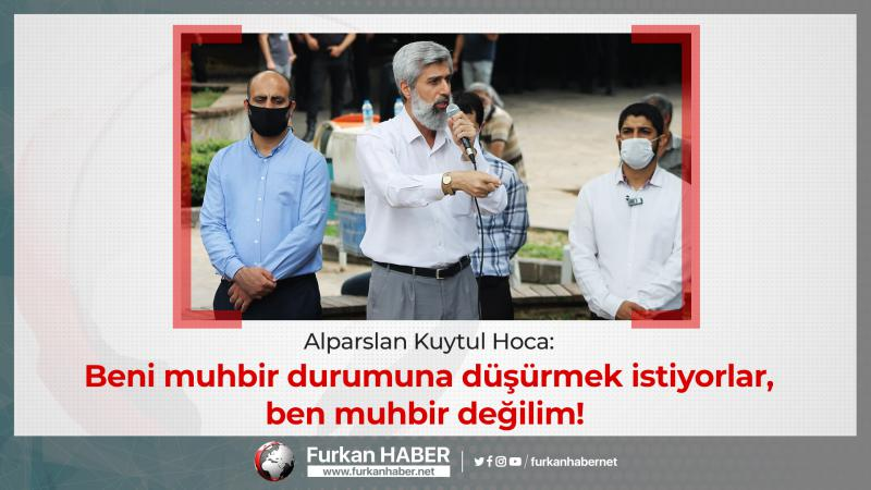 Alparslan Kuytul Hoca, Mahkemede Kendisine Kurulan Tuzağa Dikkat Çekti!