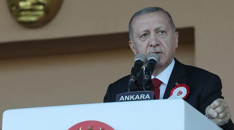 Erdoğan: Artık dün olduğundan daha gür bir sedayla düşmana hodri meydan diyoruz