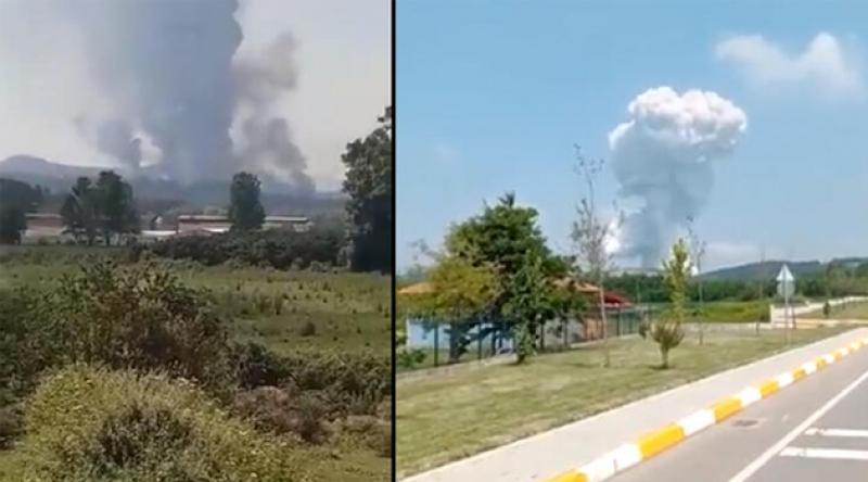 Sakarya'da havai fişek fabrikasında patlama: 2 kişi yaşamını yitirdi, 73 kişi yaralı