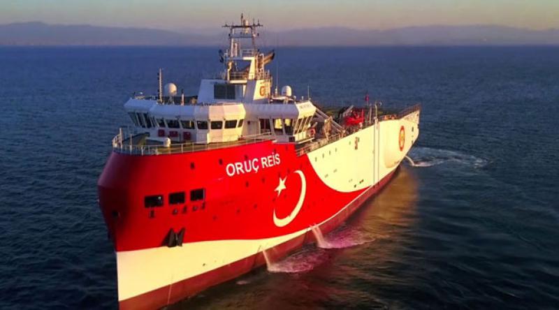Oruç Reis'in çalışma süresi 1 Eylül'e kadar uzatıldı