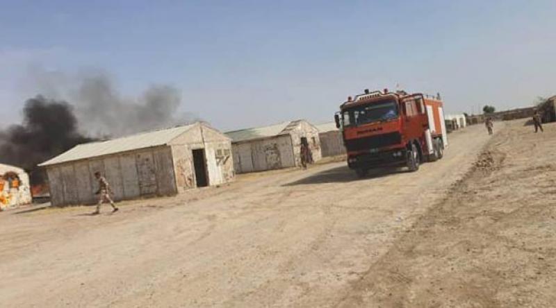 Bağdat'ta koalisyon güçlerine roketli saldırı