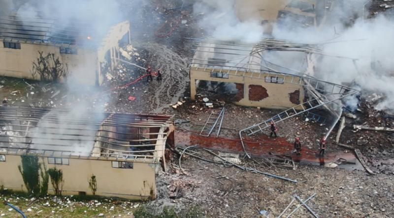 Sakarya'daki havai fişek fabrikasının bilirkişi raporu tamamlandı