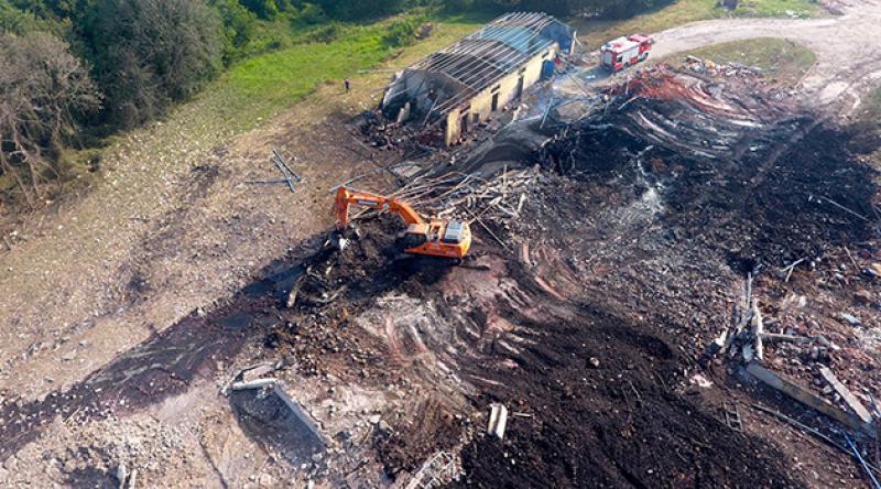 Havai fişek fabrikasındaki patlamayla ilgili idari soruşturma başlatıldı