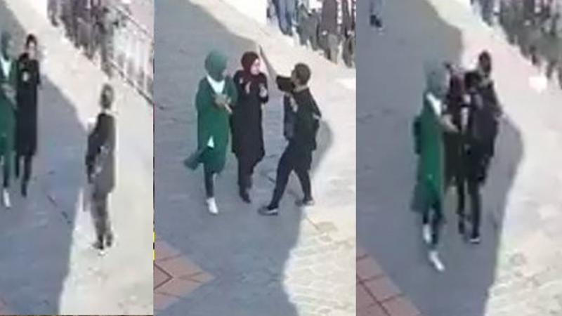 Soylu: Karaköy'de başörtülü öğrencilere saldıran provokatör, İstanbul Emniyetimiz tarafından gözaltına alındı