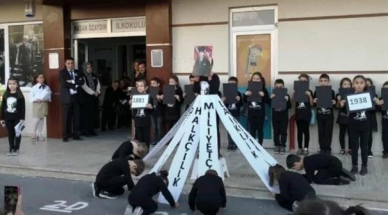 MEB, 10 Kasım'da Tepki Çeken Törenlerden Dolayı Okul Müdürlerini Görevden Uzaklaştırdı