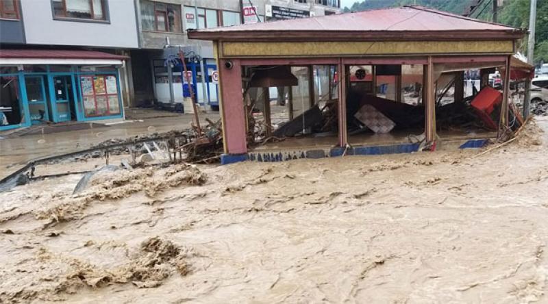 Giresun'daki sel felaketinde ölenleri sayısı 7'e yükseldi