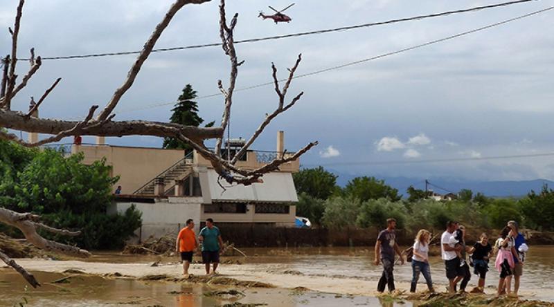 Yunanistan'da sel felaketi: 5 ölü