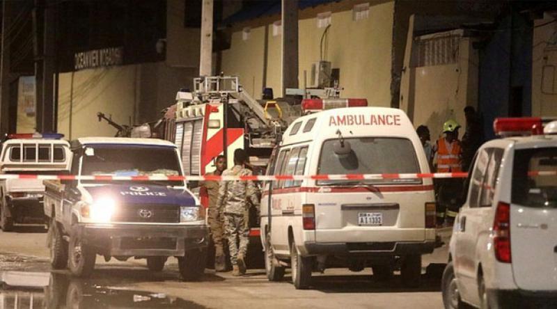 Somali'deki kompleks saldırıda ölü sayısı 10'a yükseldi
