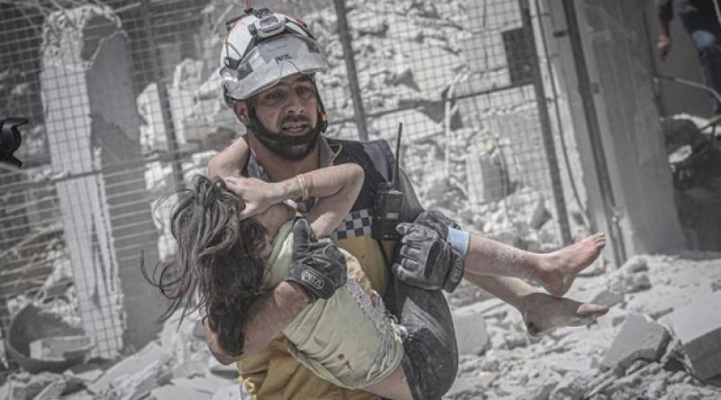 Şam ve Rus ordusu Suriye'de 224 sivili öldürdü