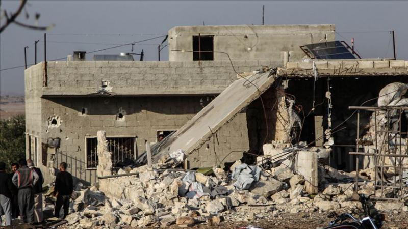 Rusya'nın İdlib'e hava saldırısında 5 sivil hayatını kaybetti