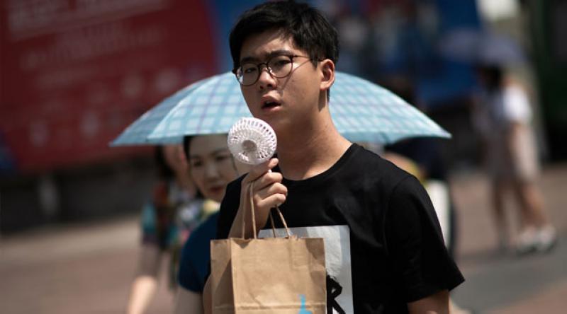 Tokyo'da yüksek sıcaklıklardan hayatını kaybedenlerin sayısı 79'a yükseldi