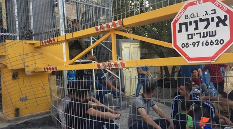 Irkçı Yahudiler El-Halil kentinde Filistinlilere saldırdı