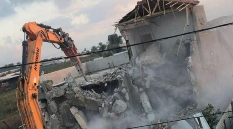 İşgal güçleri El-Ludd'de Ebu Zeyd ailesinin iki evini yıktı