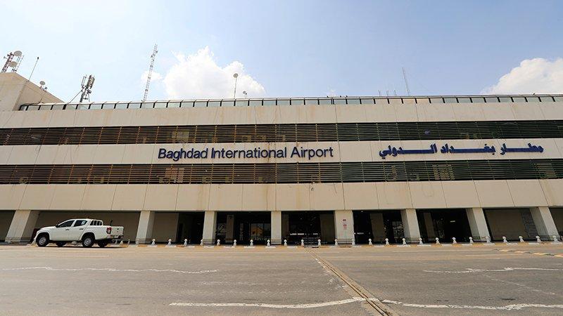 Irak'ta Bağdat Havalimanı yakınlarına üç füze atıldı