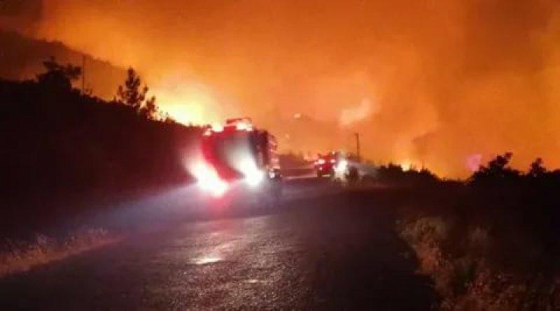 Antalya'daki orman yangını yerleşim yerlerine yaklaştı: Petrol istasyonlarına kadar geldi!