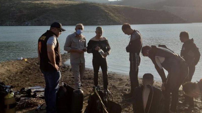 Amasya'da bir aileden 5 kişi baraj sularına kapıldı