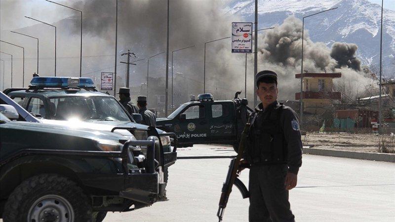 Afganistan'daki saldırıda 15 güvenlik görevlisi öldü